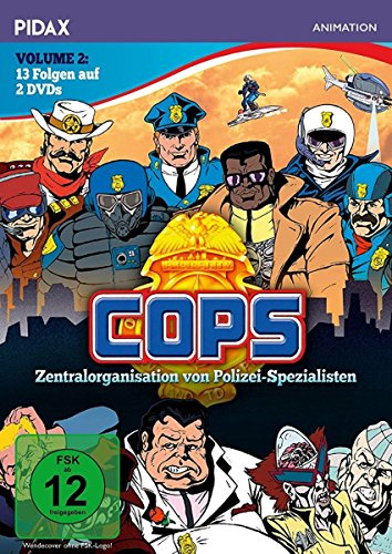 C.O.P.S., Vol. 2 (2 DVDs)