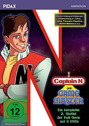 Captain N: Der Game Master - Staffel 2 (2 DVDs)