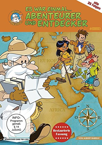 Es war einmal ... Abenteurer & Entdecker (restaurierte Fassung) (6 DVDs)
