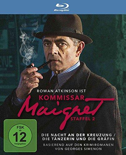 Kommissar Maigret Staffel 2: Die Nacht der Kreuzung / Die Tänzerin und die Gräfin [Blu-ray]