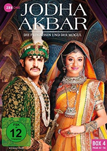 Jodha Akbar Die Prinzessin und der Mogul - Box  4 (Folge 43-56) (3 DVDs)