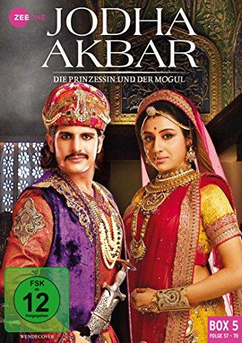 Jodha Akbar Die Prinzessin und der Mogul - Box 5 (Folge 57-70) (3 DVDs)