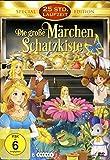 Die große Märchen Schatzkiste (25 Zeichentrickfilme + kpl. TV Serie Little Cars) (6 DVDs)