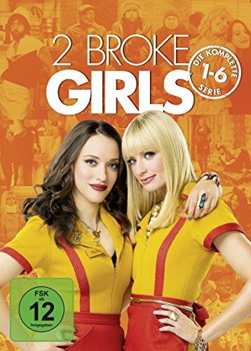 2 Broke Girls Die komplette Serie (exklusiv bei Amazon.de) (17 DVDs)