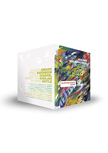 Die Silvesterkonzerte der Berliner Philharmoniker (1977-2015) (20 DVDs)
