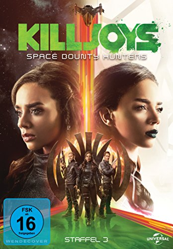 Killjoys - Space Bounty Hunters: Staffel 3 (3 DVDs)
