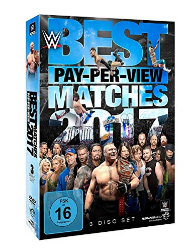 WWE Best PPV Matches 2017 (3 DVDs)