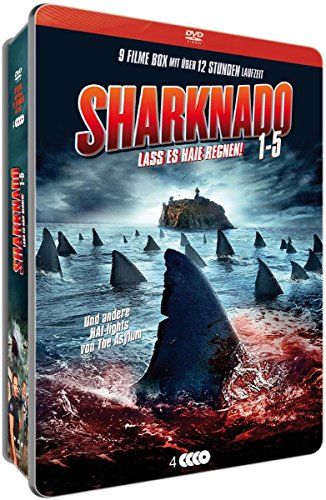Sharknado 1-5 (Limited Metallbox-Collection) (4 DVDs)