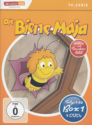 Die Biene Maja  Box 1/Episoden 1-26 (4 DVDs)