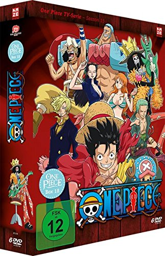 One Piece TV-Serie, Vol.18 (6 DVDs)