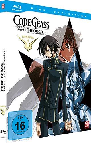 Code Geass: Lelouch of the Rebellion Staffel 1 (Mediabook Gesamtausgabe) [Blu-ray]
