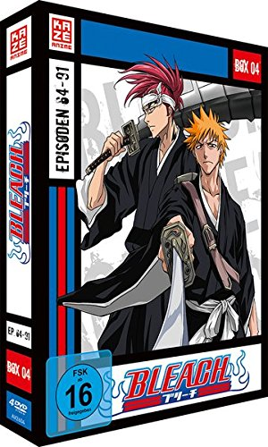 Bleach Die TV-Serie: Box 4 (Episoden 64-91) (4 DVDs)