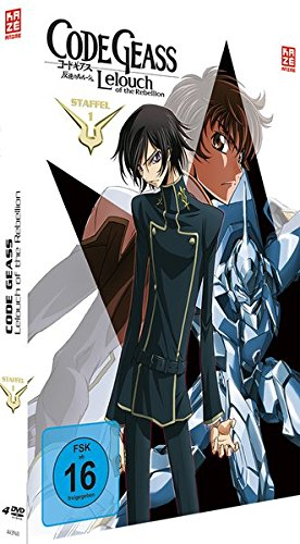 Code Geass: Lelouch of the Rebellion Staffel 1 (Mediabook Gesamtausgabe) (4 DVDs)