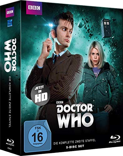 Doctor Who Staffel  2 [Blu-ray]