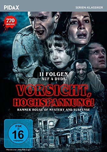 Vorsicht, Hochspannung! (Hammer House of Mystery and Suspense) 4 DVDs