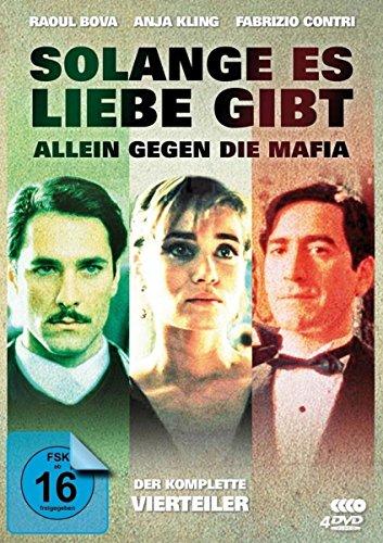 """Solange es Liebe gibt Der komplette 4-Teiler (""""Allein gegen die Mafia"""") (4 DVDs)"""