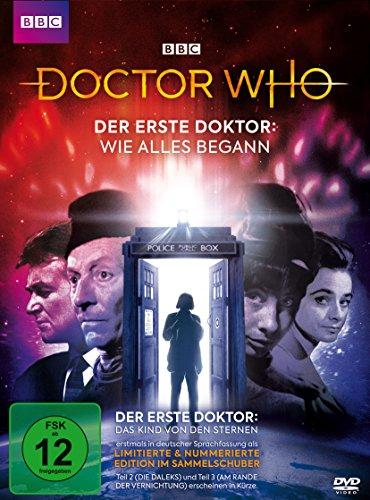 Doctor Who Der erste Doktor: Das Kind von den Sternen (Digipack-Edition mit Sammelschuber)