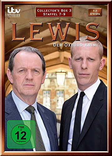 Lewis - Der Oxford Krimi Collector's Box 3 (Staffel 7-9) (12 DVDs)