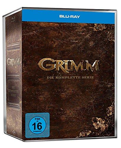 Grimm Die komplette Serie (Limited Märchenbuch-Edition) [Blu-ray]