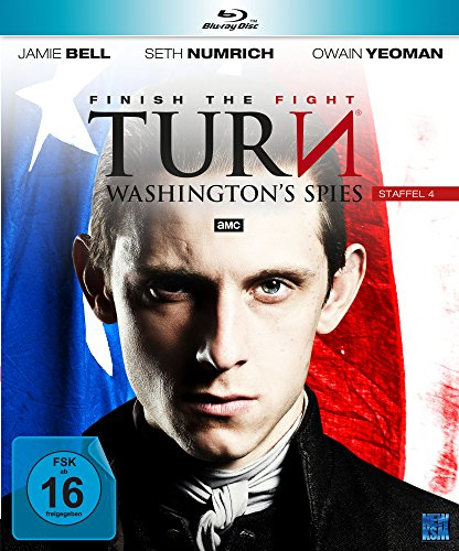 Turn - Washington's Spies: Staffel 4 [Blu-ray]