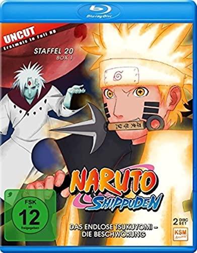 Naruto Shippuden Staffel 20, Box 1: Das endlose Tsukuyomi - Die Beschwörung [Blu-ray]