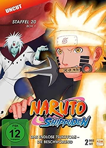 Naruto Shippuden Staffel 20, Box 1: Das endlose Tsukuyomi - Die Beschwörung (2 DVDs)