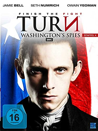 Turn - Washington's Spies: Staffel 4 (4 DVDs)