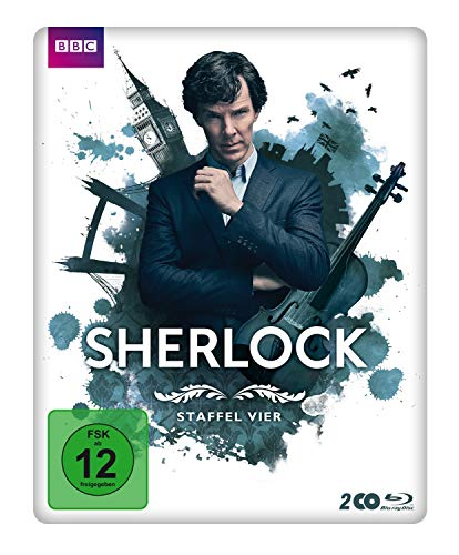 Sherlock Staffel 4 (Limited Edition Steelbook) [Blu-ray]