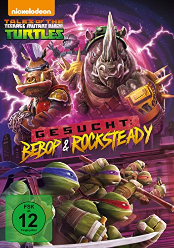 Teenage Mutant Ninja Turtles Gesucht: Bebop und Rocksteady