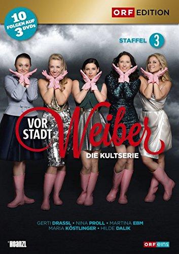 Vorstadtweiber Staffel 3 (Österreich Version) (3 DVDs)