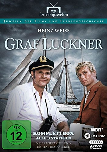 Graf Luckner Staffeln 1-3 Komplettbox (6 DVDs)