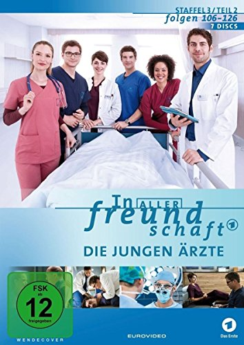In aller Freundschaft - Die jungen Ärzte: Staffel 3.2 (Folgen 106-126) (7 DVDs)