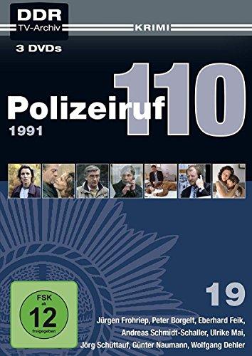 Polizeiruf 110 Box 19: 1991 (DDR TV-Archiv) (3 DVDs)