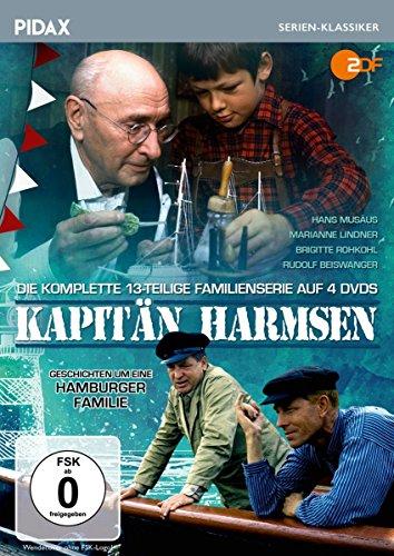 Kapitän Harmsen Geschichten um eine Hamburger Familie (4 DVDs)