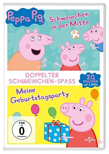 Peppa Pig: Schweinchen in der Mitte & Meine Geburtstagsparty (2 DVDs)