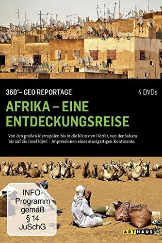 360° - Die GEO-Reportage: Afrika - Eine Entdeckungsreise (4 DVDs)