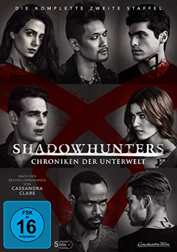 Shadowhunters - Chroniken der Unterwelt: Staffel 2 (5 DVDs)