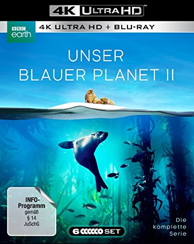 Unser Blauer Planet II 3 Blu-ray-4K Ultra HD + 3 Blu-ray-2D