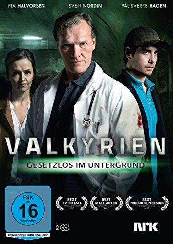 Valkyrien - Gesetzlos im Untergrund 2 DVDs
