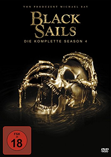 Black Sails Staffel 4 (4 DVDs)