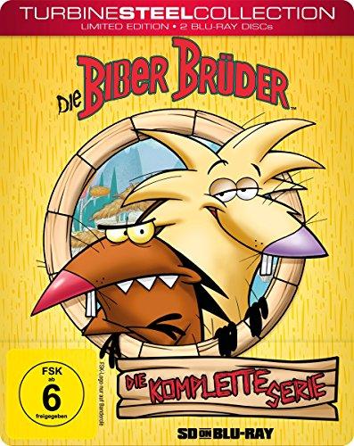 Die Biber Brüder Die komplette Serie (Steelbook) [SD on Blu-ray]