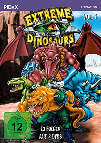 Extreme Dinosaurs Vol. 1 (2 DVDs)