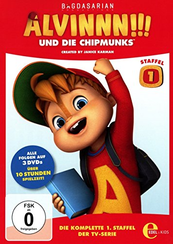 Alvinnn!!! und die Chipmunks Staffel 1 Box (3 DVDs)