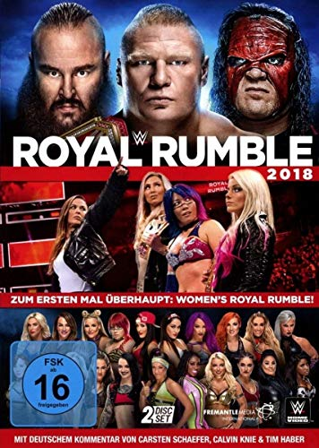 WWE Royal Rumble 2018 (2 DVDs)