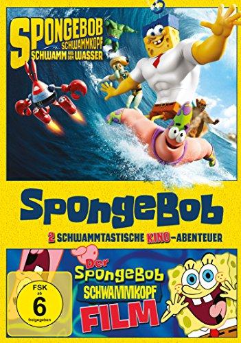 SpongeBob Schwammkopf Der Film & Schwamm aus dem Wasser (2 DVDs)