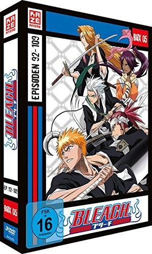 Bleach - Die TV-Serie: Box  5 (Episoden 92-109) (3 DVDs)