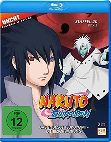Naruto Shippuden Staffel 20, Box 2: Das endlose Tsukuyomi - Die Beschwörung [Blu-ray]