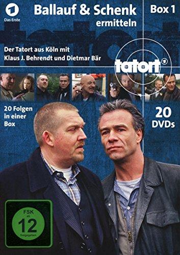 Tatort Ballauf & Schenk ermitteln (1-20) (20 DVDs)