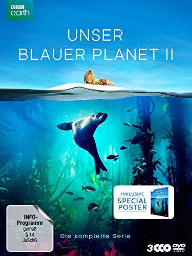 Unser Blauer Planet II (Amazon Exklusiv-Version mit Poster) (Limited Collector's Edition) (3 DVDs) Amazon Exklusiv-Version mit Poster (Limited Collector's Edition) (3 DVDs)