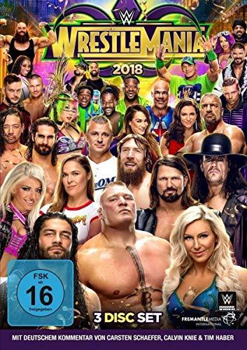 WWE Wrestlemania 34 (3 DVDs)